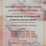 afis Seminar Online Emotia Muzicala